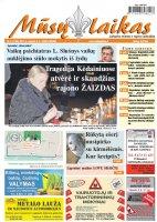 Mūsų Laikas - Jurbarko rajono laikraštis, Nr. 5 (1105)