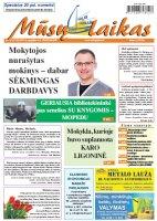 Mūsų Laikas - Jurbarko rajono laikraštis, Nr. 18 (1118)