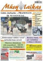 Mūsų Laikas - Jurbarko rajono laikraštis, Nr. 30 (1130)