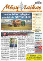 Mūsų Laikas - Jurbarko rajono laikraštis, Nr. 33 (1133)