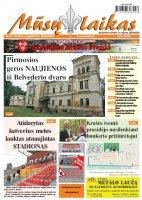 Mūsų Laikas - Jurbarko rajono laikraštis, Nr. 34 (1134)