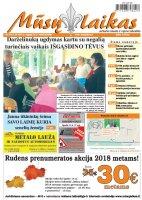 Mūsų Laikas - Jurbarko rajono laikraštis, Nr. 37 (1137)