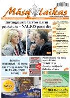Mūsų Laikas - Jurbarko rajono laikraštis, Nr. 42 (1142)