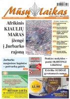 Mūsų Laikas - Jurbarko rajono laikraštis, Nr. 43 (1143)