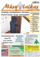 Mūsų Laikas - Jurbarko rajono laikraštis, Nr. 50 (1150)