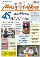 Mūsų Laikas - Jurbarko rajono laikraštis, Nr. 52 (1052)