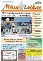 Mūsų Laikas - Jurbarko rajono laikraštis, Nr. 08 (1160)