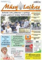 Mūsų Laikas - Jurbarko rajono laikraštis, Nr. 32 (1184)