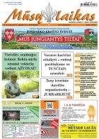 Mūsų Laikas - Jurbarko rajono laikraštis, Nr. 34 (1186)