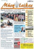Mūsų Laikas - Jurbarko rajono laikraštis, Nr. 35 (1187)