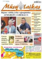 Mūsų Laikas - Jurbarko rajono laikraštis, Nr. 36 (1188)