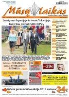 Mūsų Laikas - Jurbarko rajono laikraštis, Nr. 37 (1189)