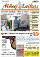 Mūsų Laikas - Jurbarko rajono laikraštis, Nr. 38 (1190)