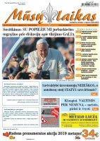 Mūsų Laikas - Jurbarko rajono laikraštis, Nr. 39 (1191)