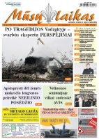Mūsų Laikas - Jurbarko rajono laikraštis, Nr. 46 (1198)