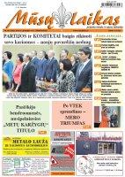 Mūsų Laikas - Jurbarko rajono laikraštis, Nr. 50 (1202)