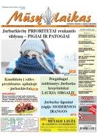 Mūsų Laikas - Jurbarko rajono laikraštis, Nr. 03 (1207)