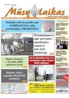 Mūsų Laikas - Jurbarko rajono laikraštis, Nr. 09 (1213)