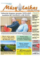Mūsų Laikas - Jurbarko rajono laikraštis, Nr. 19 (1223)