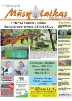Mūsų Laikas - Jurbarko rajono laikraštis, Nr. 32 (1136)