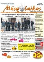 Mūsų Laikas - Jurbarko rajono laikraštis, Nr. 40 (1244)