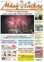 Mūsų Laikas - Jurbarko rajono laikraštis, Nr. 01(1257)