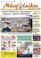 Mūsų Laikas - Jurbarko rajono laikraštis, Nr. 05 (1261)