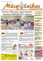 Mūsų Laikas - Jurbarko rajono laikraštis, Nr. 07 (1263)