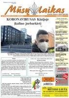 Mūsų Laikas - Jurbarko rajono laikraštis, Nr. 10 (1266)