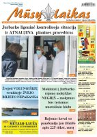 Mūsų Laikas - Jurbarko rajono laikraštis, Nr. 21 (1277)