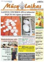 Mūsų Laikas - Jurbarko rajono laikraštis, Nr. 24 (1280)