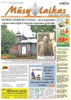 Mūsų Laikas - Jurbarko rajono laikraštis, Nr. 27 (1283)