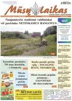 Mūsų Laikas - Jurbarko rajono laikraštis, Nr. 31 (1287)