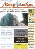 Mūsų Laikas - Jurbarko rajono laikraštis, Nr. 35 (1291)