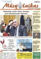 Mūsų Laikas - Jurbarko rajono laikraštis, Nr. 3 (1311)