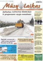 Mūsų Laikas - Jurbarko rajono laikraštis, Nr. 4 (1312)