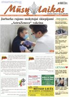 Mūsų Laikas - Jurbarko rajono laikraštis, Nr. 6 (1314)