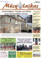 Mūsų Laikas - Jurbarko rajono laikraštis, Nr. 11 (1319)