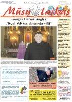 Mūsų Laikas - Jurbarko rajono laikraštis, Nr. 13 (1321)