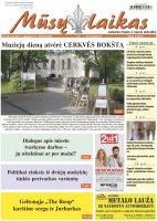 Mūsų Laikas - Jurbarko rajono laikraštis, Nr. 20 (1328)