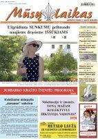 Mūsų Laikas - Jurbarko rajono laikraštis, Nr. 31 (1339)