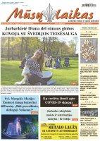 Mūsų Laikas - Jurbarko rajono laikraštis, Nr. 33 (1341)