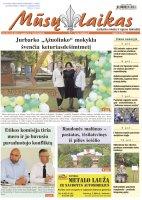 Mūsų Laikas - Jurbarko rajono laikraštis, Nr. 35 (1343)
