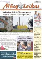 Mūsų Laikas - Jurbarko rajono laikraštis, Nr. 38 (1346)