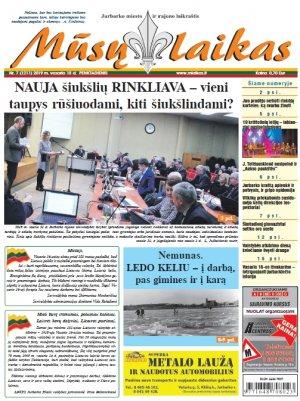 Mūsų Laikas - Jurbarko rajono laikraštis, Nr. 07 (1211)
