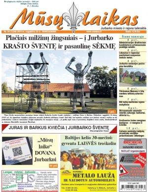 Mūsų Laikas - Jurbarko rajono laikraštis, Nr. 34 (1238)