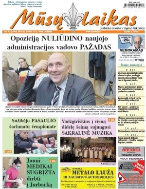 Mūsų Laikas - Jurbarko rajono laikraštis, Nr. 42 (1246)
