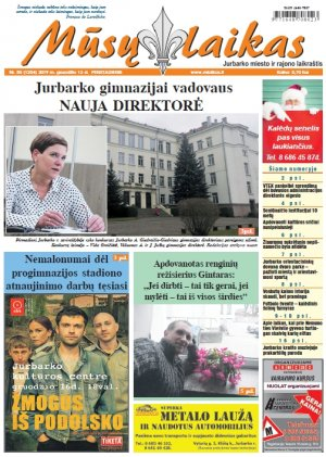 Mūsų Laikas - Jurbarko rajono laikraštis, Nr. 50 (1254)