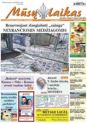 Mūsų Laikas - Jurbarko rajono laikraštis, Nr. 22 (1278)