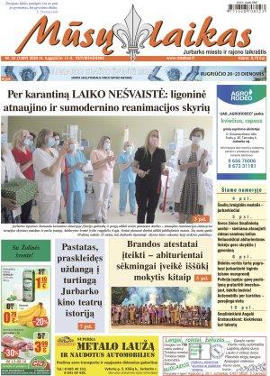 Mūsų Laikas - Jurbarko rajono laikraštis, Nr. 33 (1289)